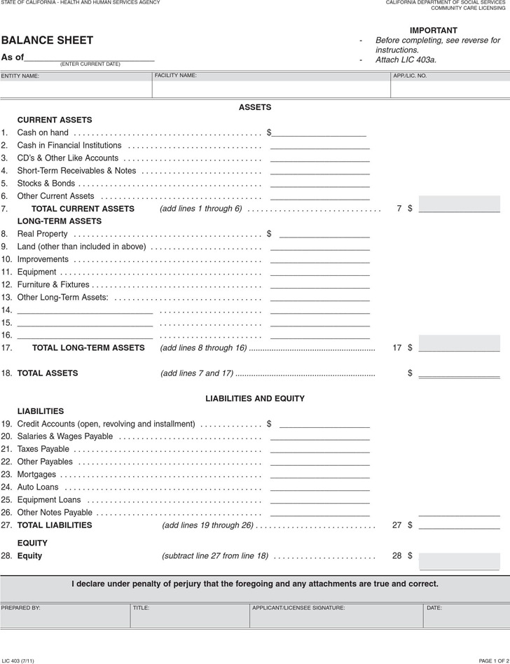 download balance sheet template for free tidytemplates