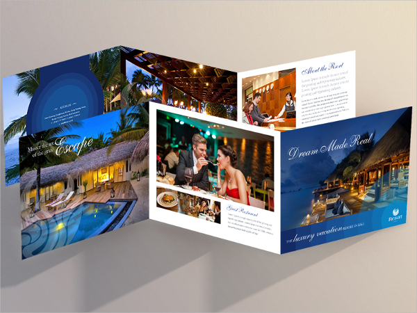 Bali Resort Brochure Template