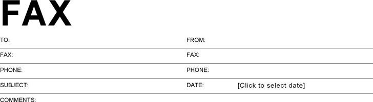 download basic fax cover sheet for free tidytemplates