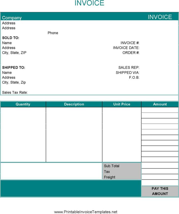 Basic Invoice1