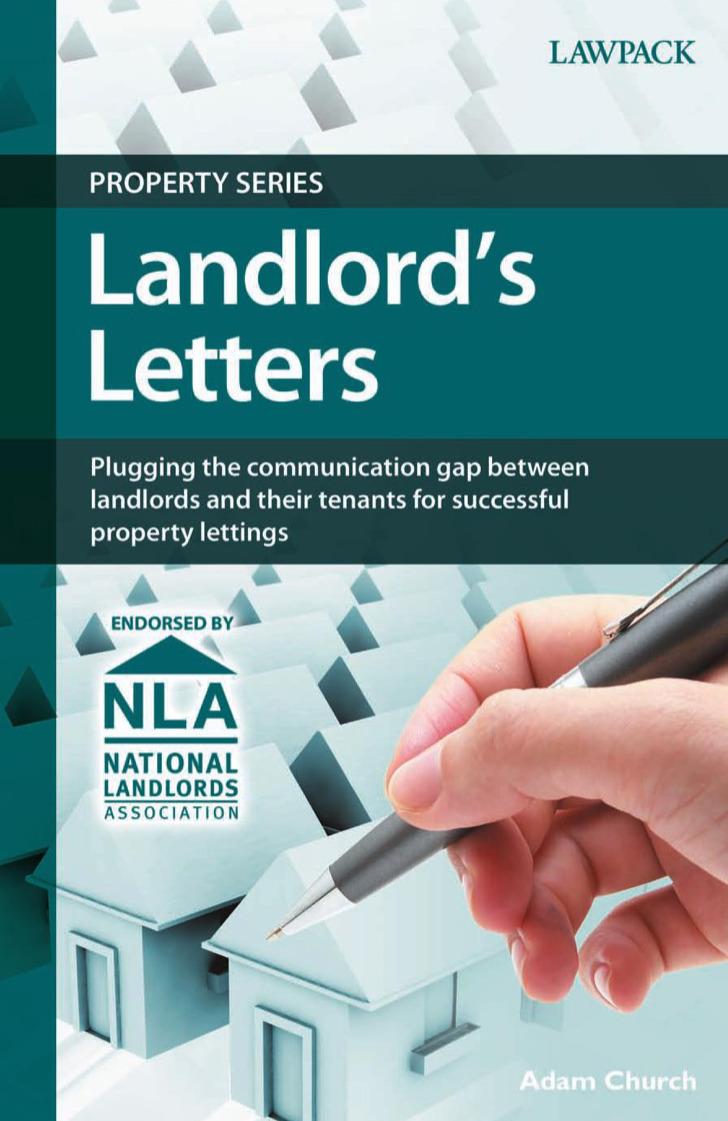 Basic Landlord Reference Letter