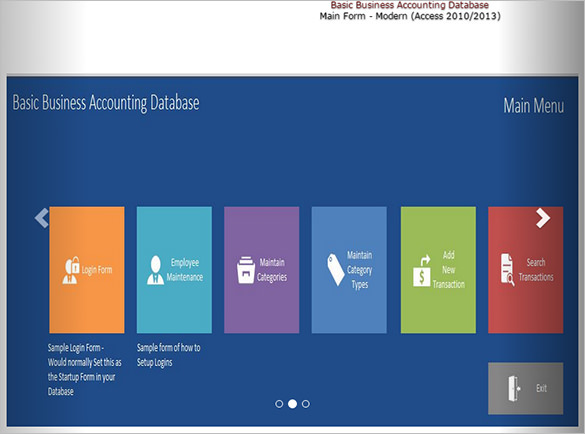 24 microsoft access templates free download
