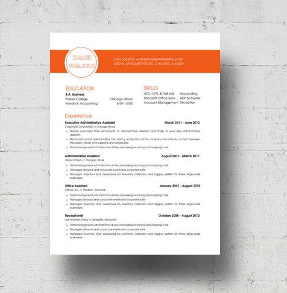 Basic Resume CV Template