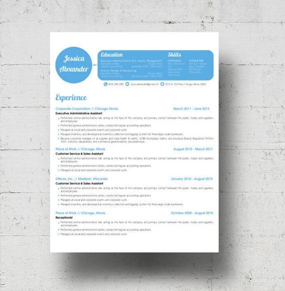Basic Resume Template for Designer