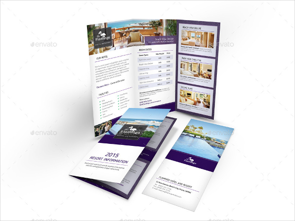 Beach Resort Brochure