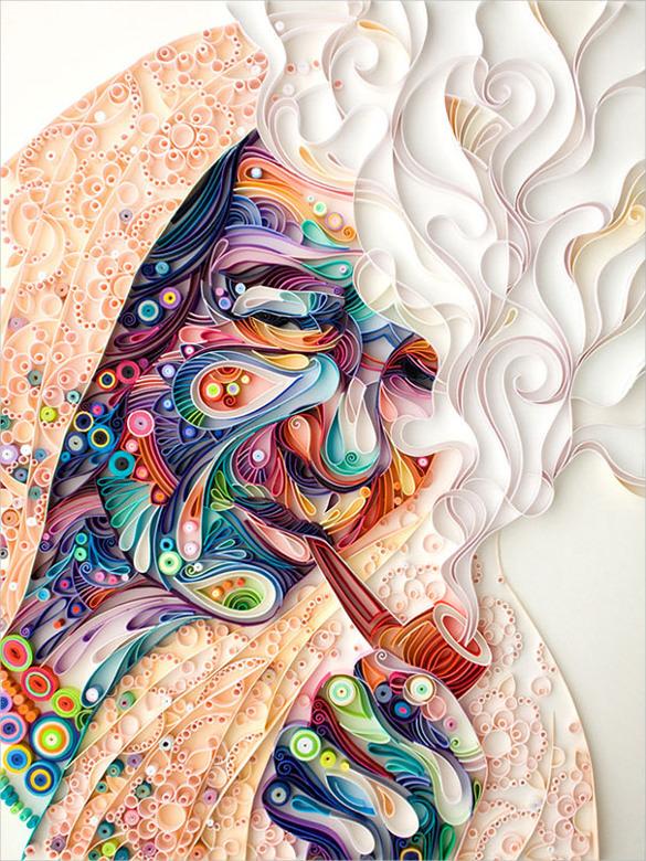 Beautiful Paper Art Design