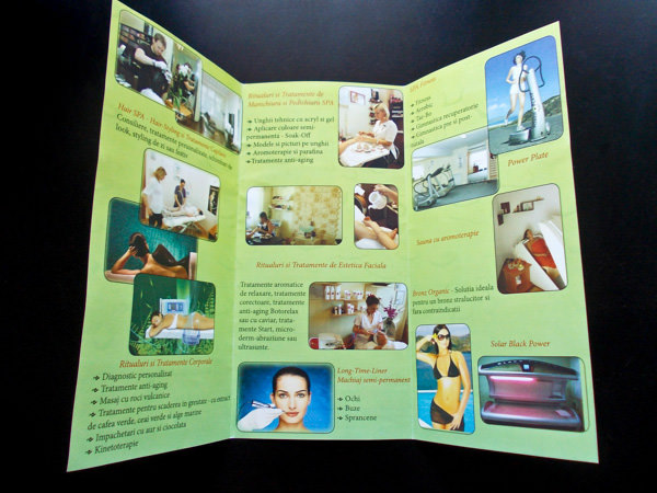 Beauty Saloon Brochure