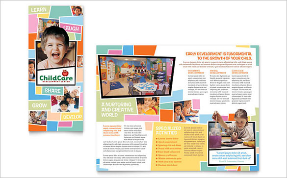 Best Child Care Brochure Template