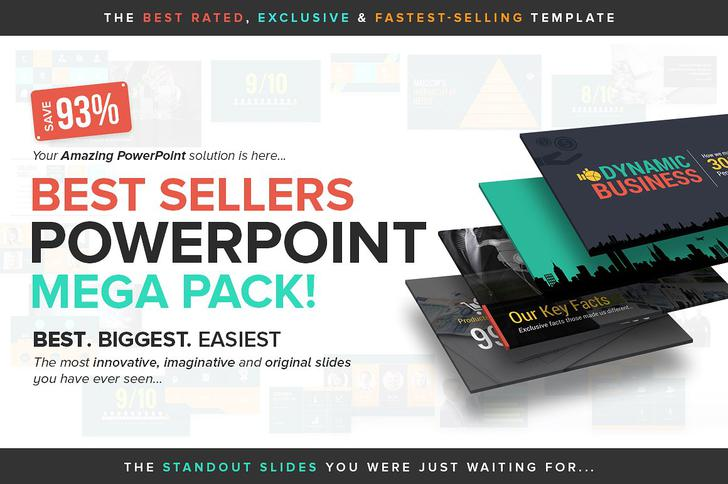 Best Sellers PowerPoint Mega Pack Google Slides