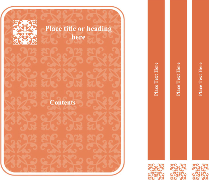Binder Cover Templates 3