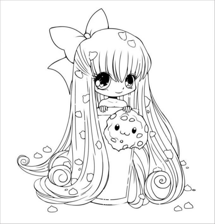 Download printable chibi templates colouring pages for for Chibi template app