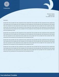 Blank Corporate Letterheads in Word Format