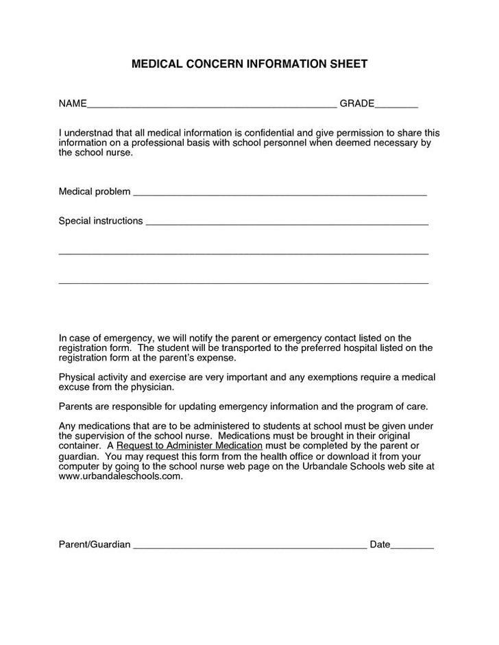 Doctors Excuse Template   Download Doctor Excuse Template For Free Tidytemplates