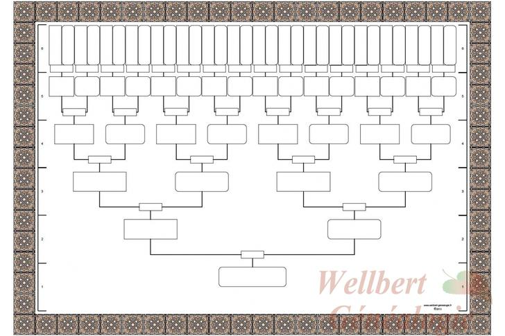 21 blank family tree templates free download