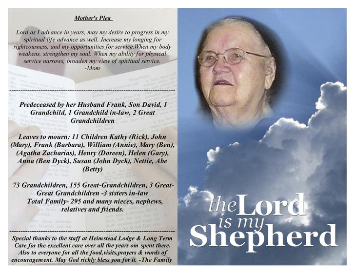 Blank Funeral Obituary Template Free