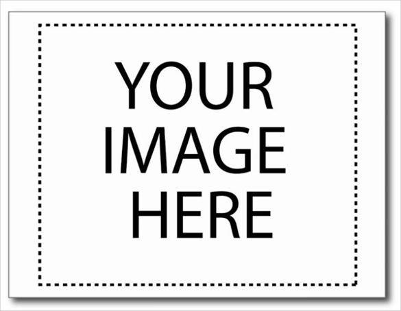 Blank Postcard with Custom Photo