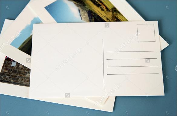 Blank Postcards Printable