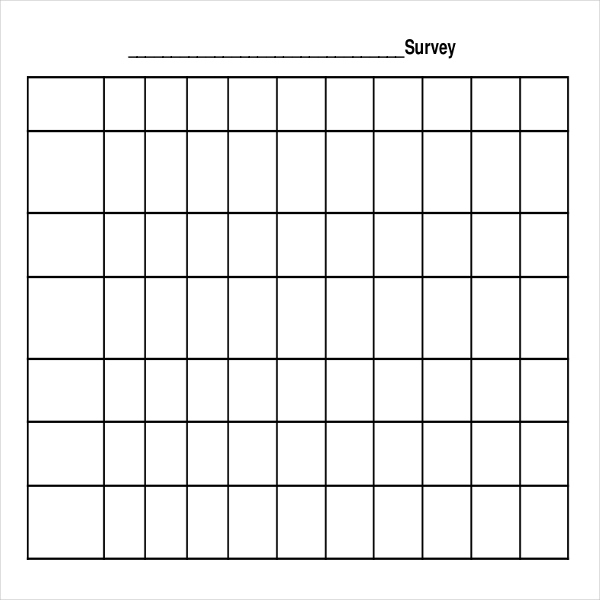 attitude survey template - download blank survey templates for free tidytemplates