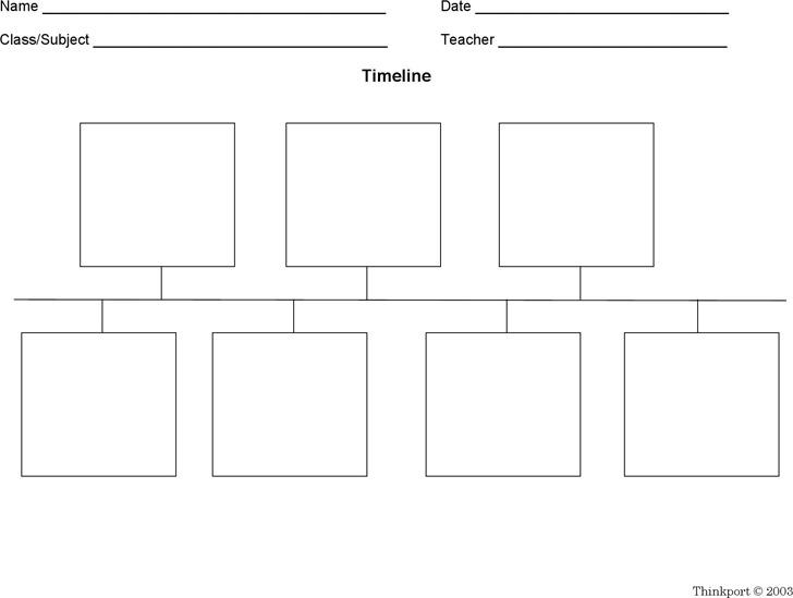 Blank Timeline pdf