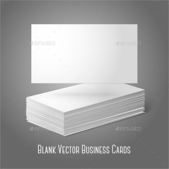 Blank Vector Business Cards