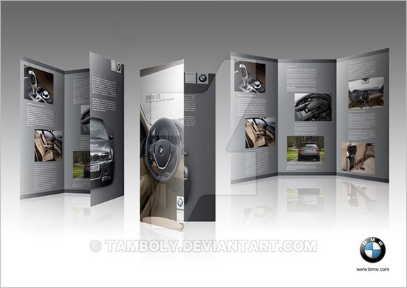 BMW x5 Brochure Template