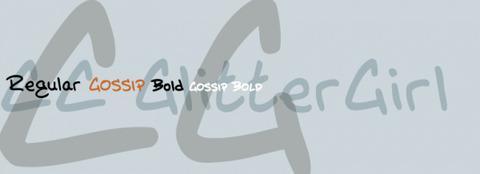 Bold Handwritten Glitter Font