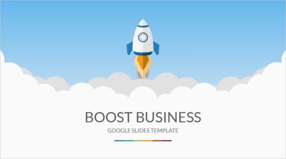 Boost Business Google Slides Template Download