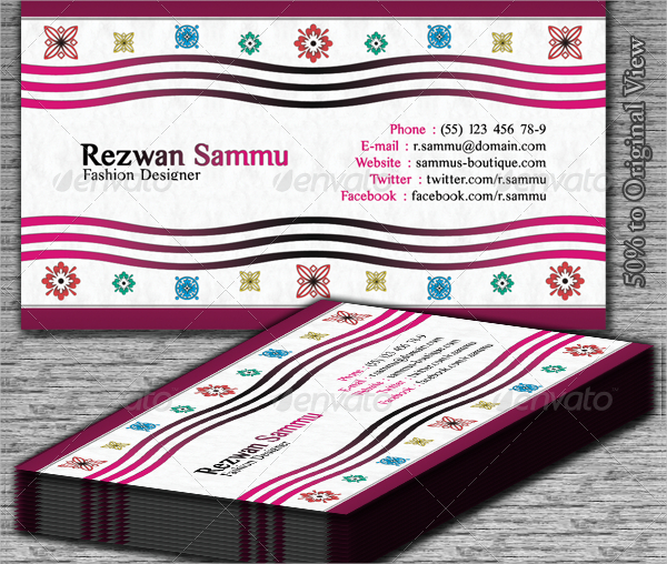 Boutique Business Card Template