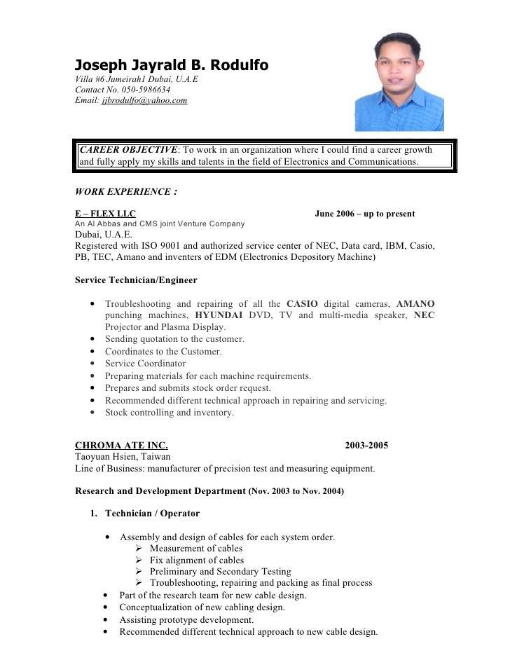 Bpo Call Centre Resume Template Format