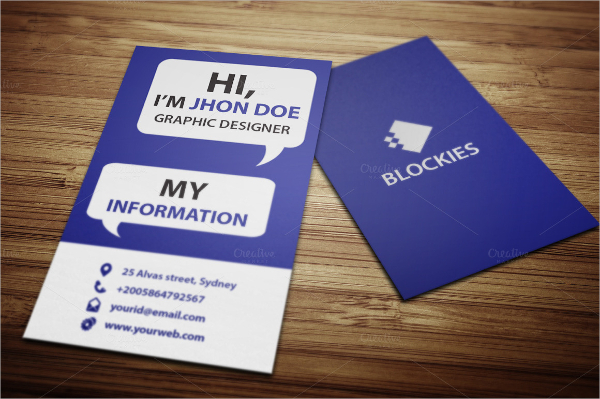 Brand Business Card Template