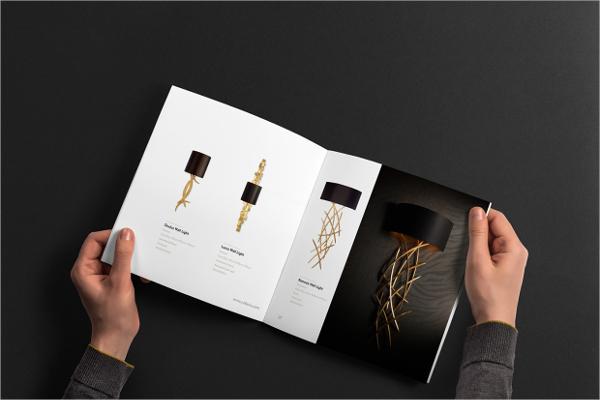 Branding Folded Brochure Template