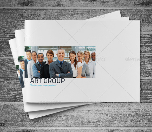 Brochure 16 Page A4 Unique Brochure Size PSD - $10