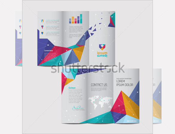 Brochure Design with Spread Pages