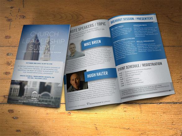 Brochure for Non-Profit Event Template