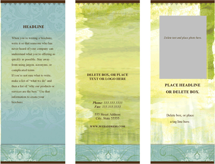 Brochure (Health Modern design)