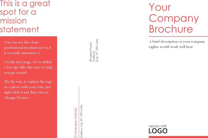 Brochure Template 4
