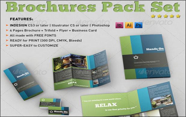 Brochures Pack set