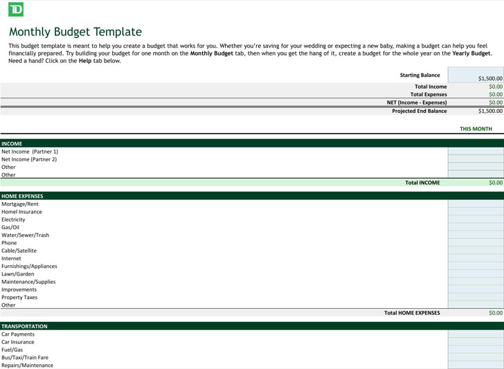 6 Excel Business Templates Free Download