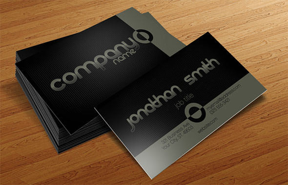 Business Card Template Basic