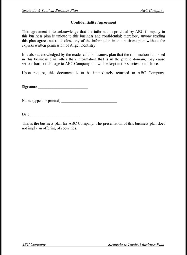 16 confidentiality agreement templates free download business confidentiality agreement template accmission Choice Image