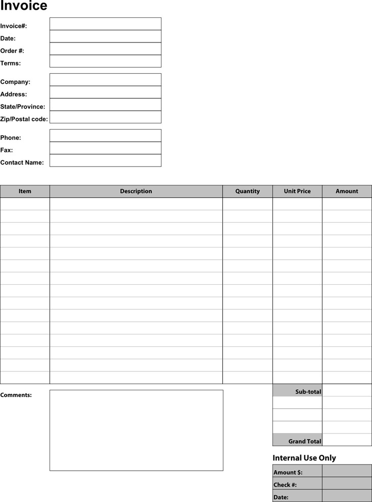 Business Invoice Template1
