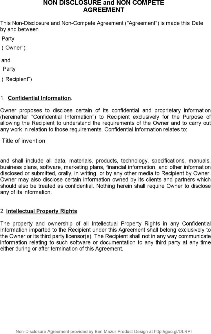 Business Non Compete Agreement6