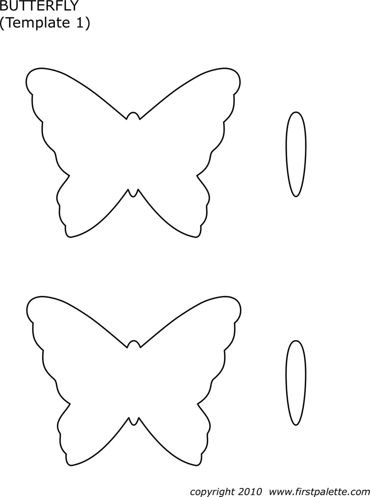 Butterfly Template 1