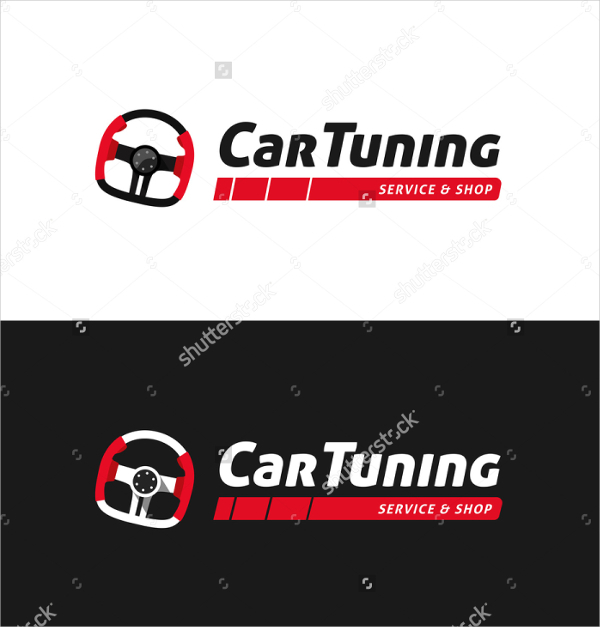 Car Tuning Shop Automotive Business Card