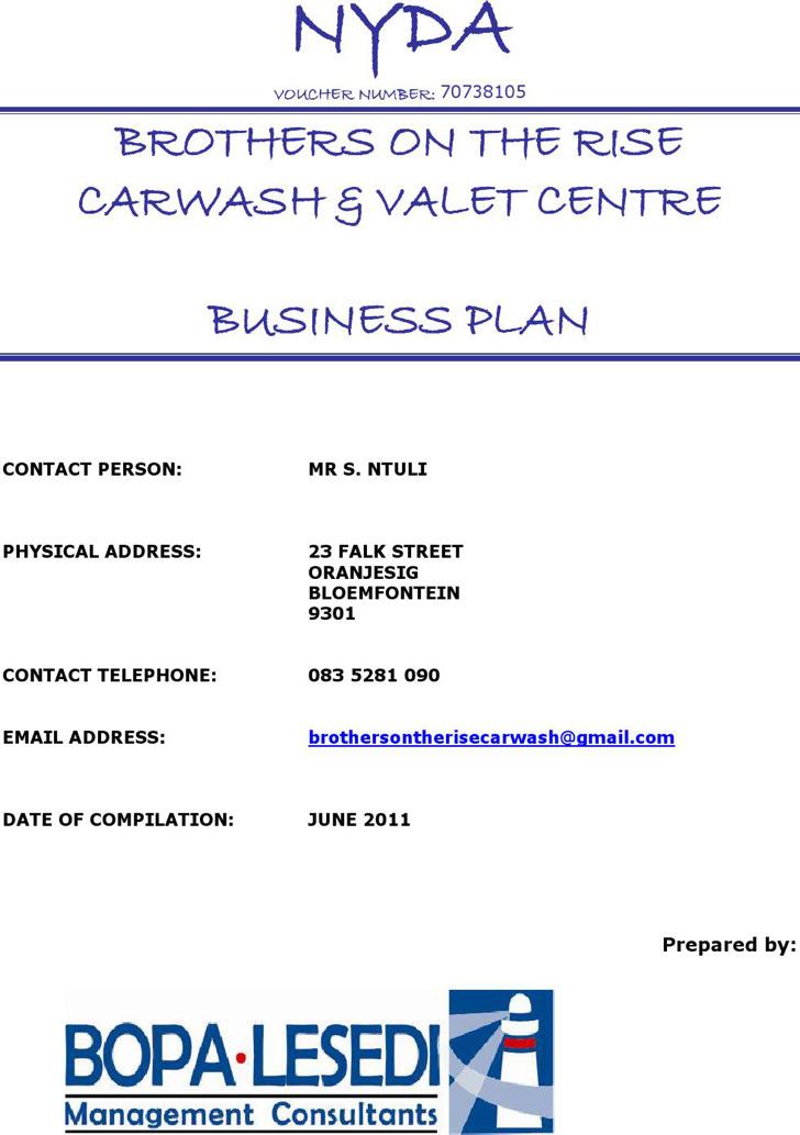 Car Wash Business Plan Sample1