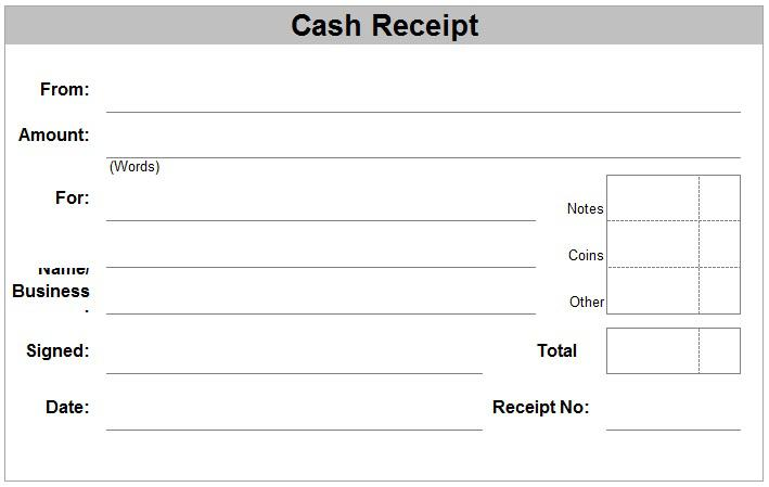 Cash Voucher Template Free Doc Format