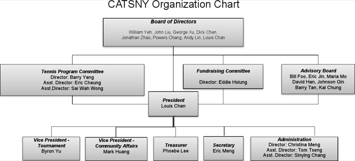 Catsny Organization Chart Template