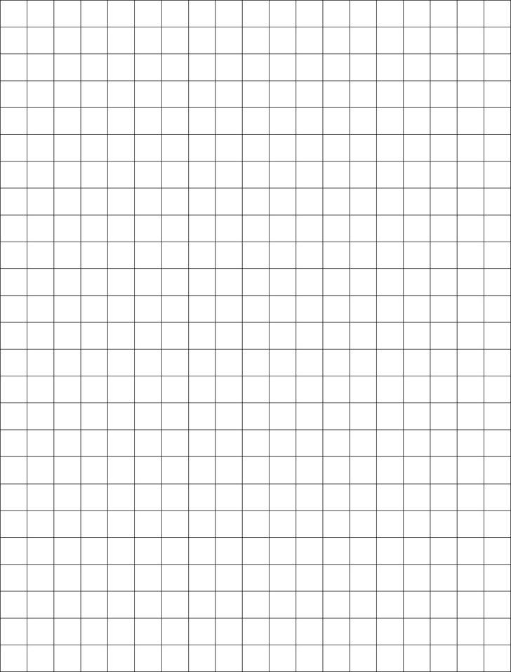 1 Centimeter Graph Paper