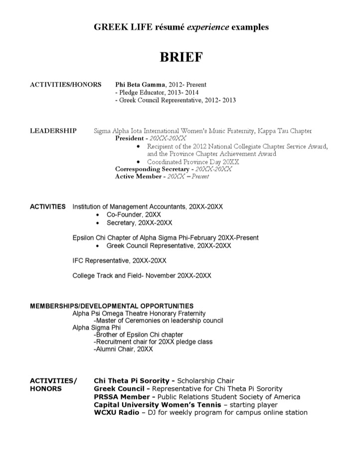 2  charity resume template free download