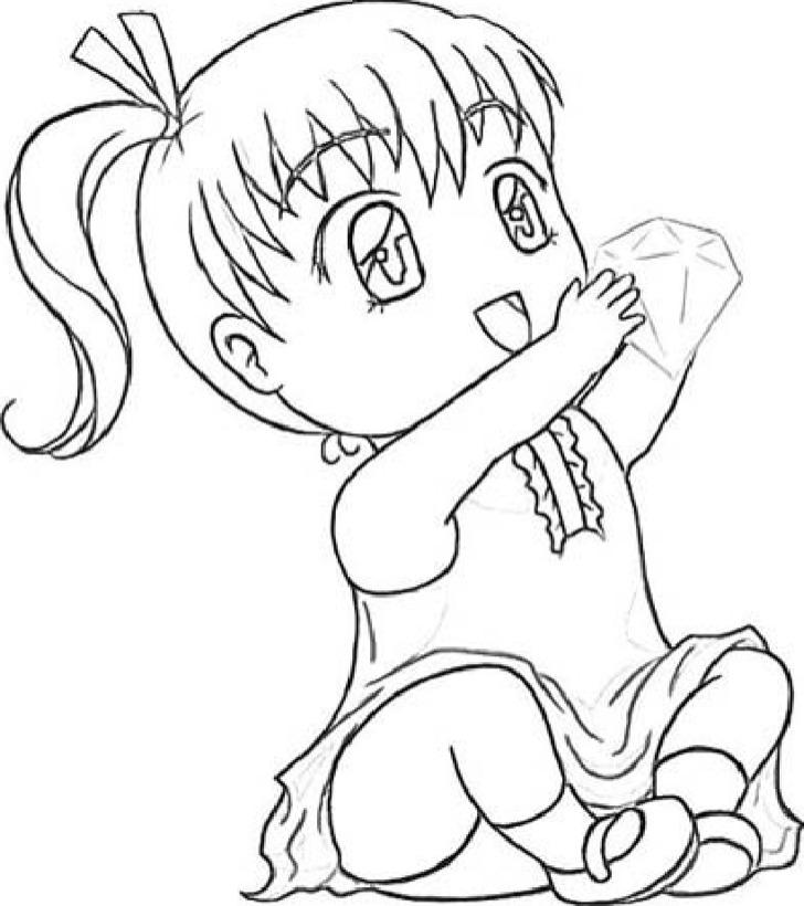 Chibi Template Drawing